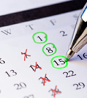 Calendar Shifts