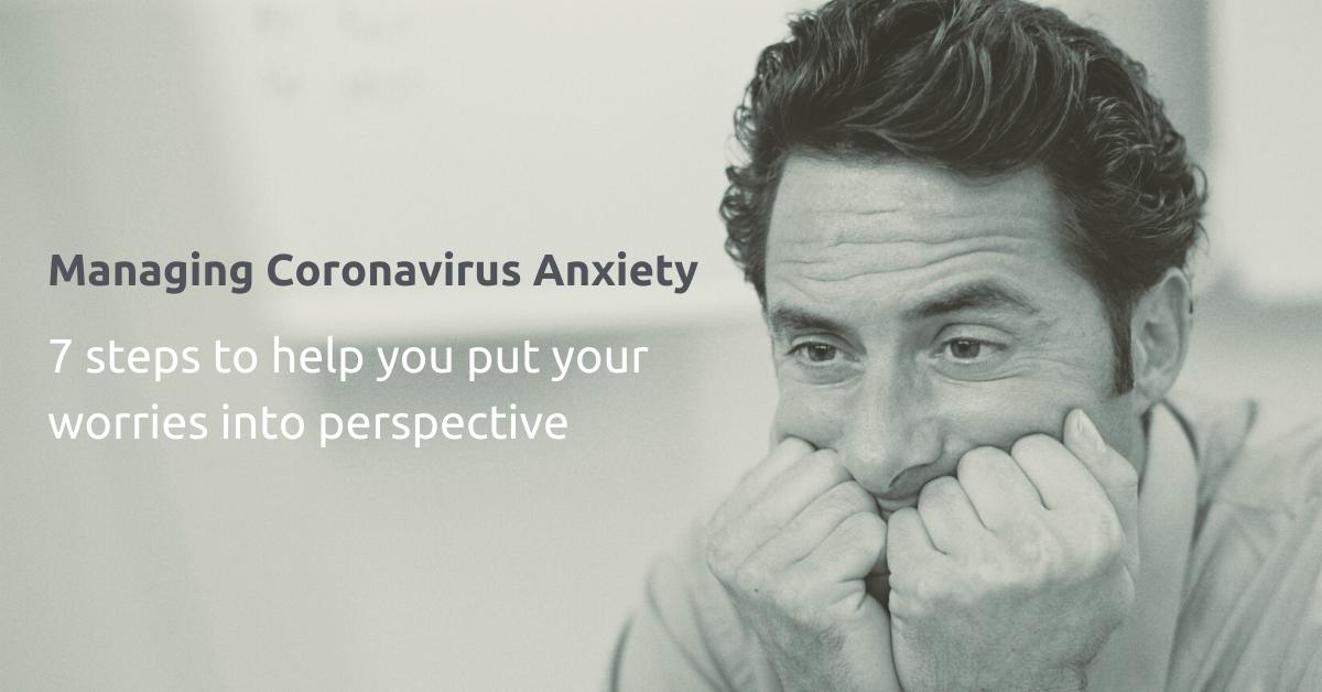 Manage Coronavirus Anxiety